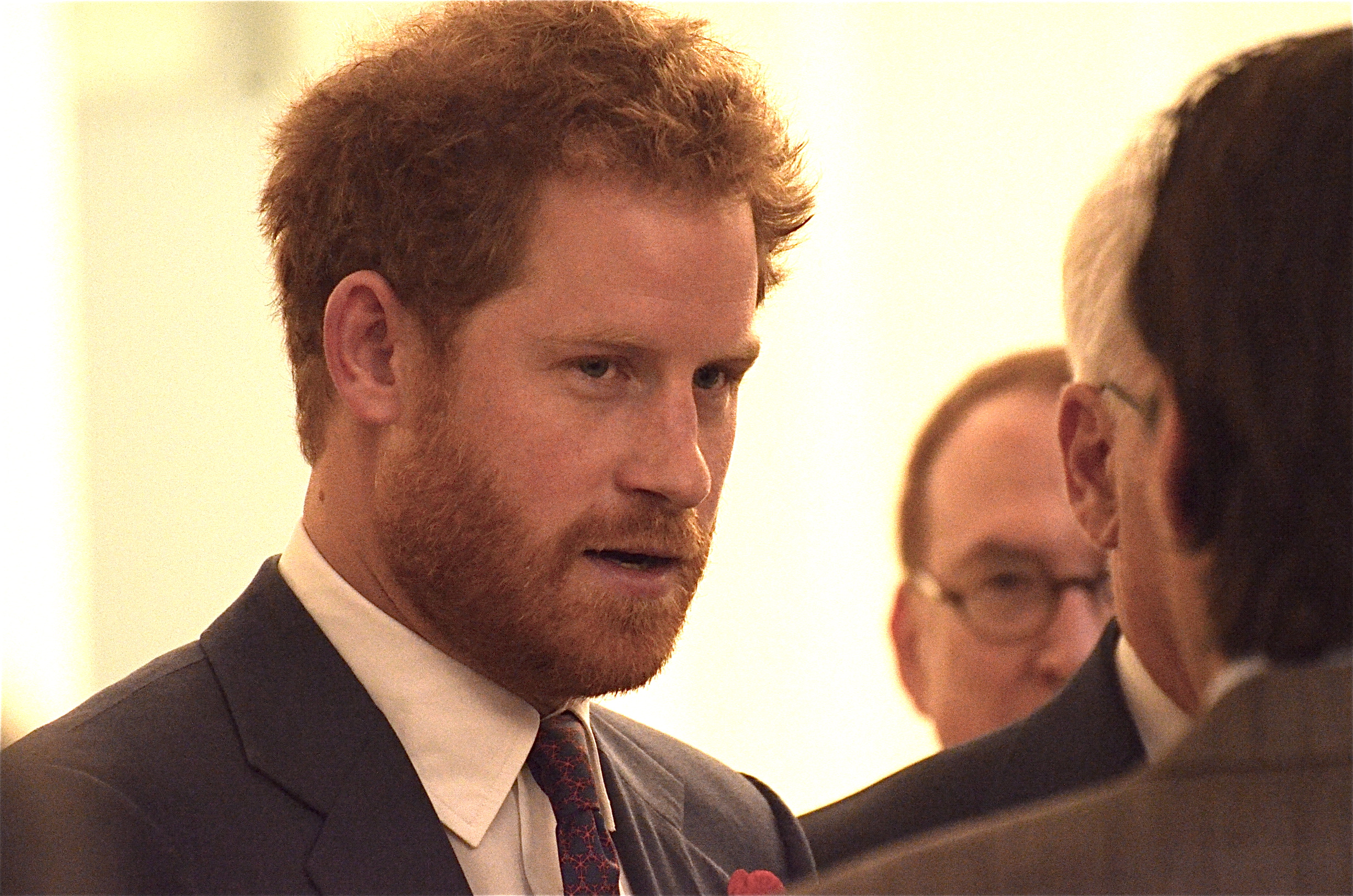 Prince Harry meets Foster Eastman